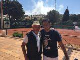 2 tennislegender på plats också!