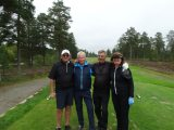 Ove, Staffan, Karl-Gunnar och Barbro