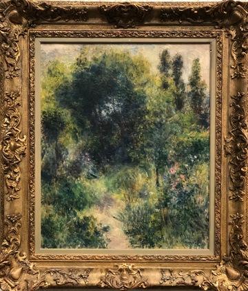 Målning av Renoir