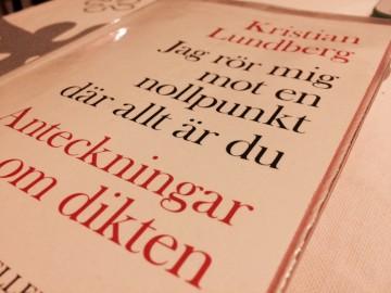 Kristian Lundberg: Jag rör mig mot en nollpunkt där allt är du