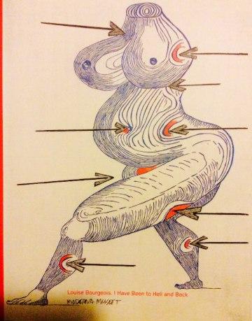 Louise Bourgeois utställningskatalog