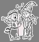 Bildresultat för tecknade bilder på lucia
