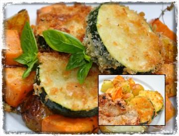 Panerad Zucchini