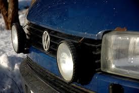 extra ljus på bilen