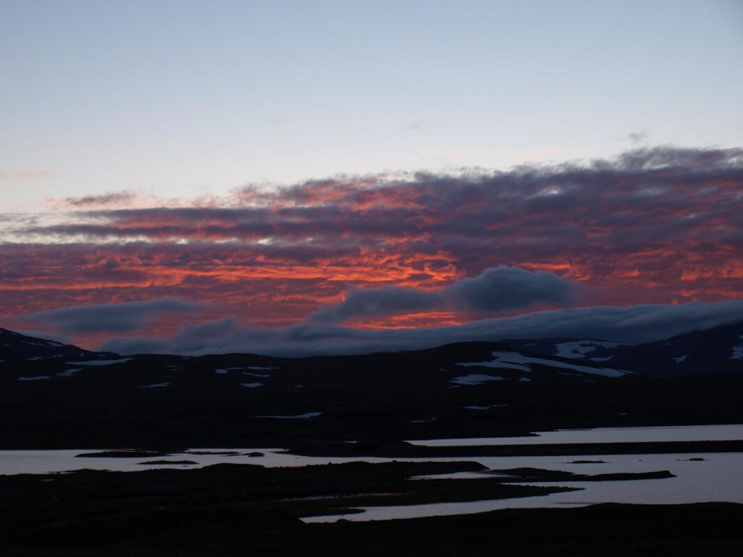 Solnedgång, Stekenjokk