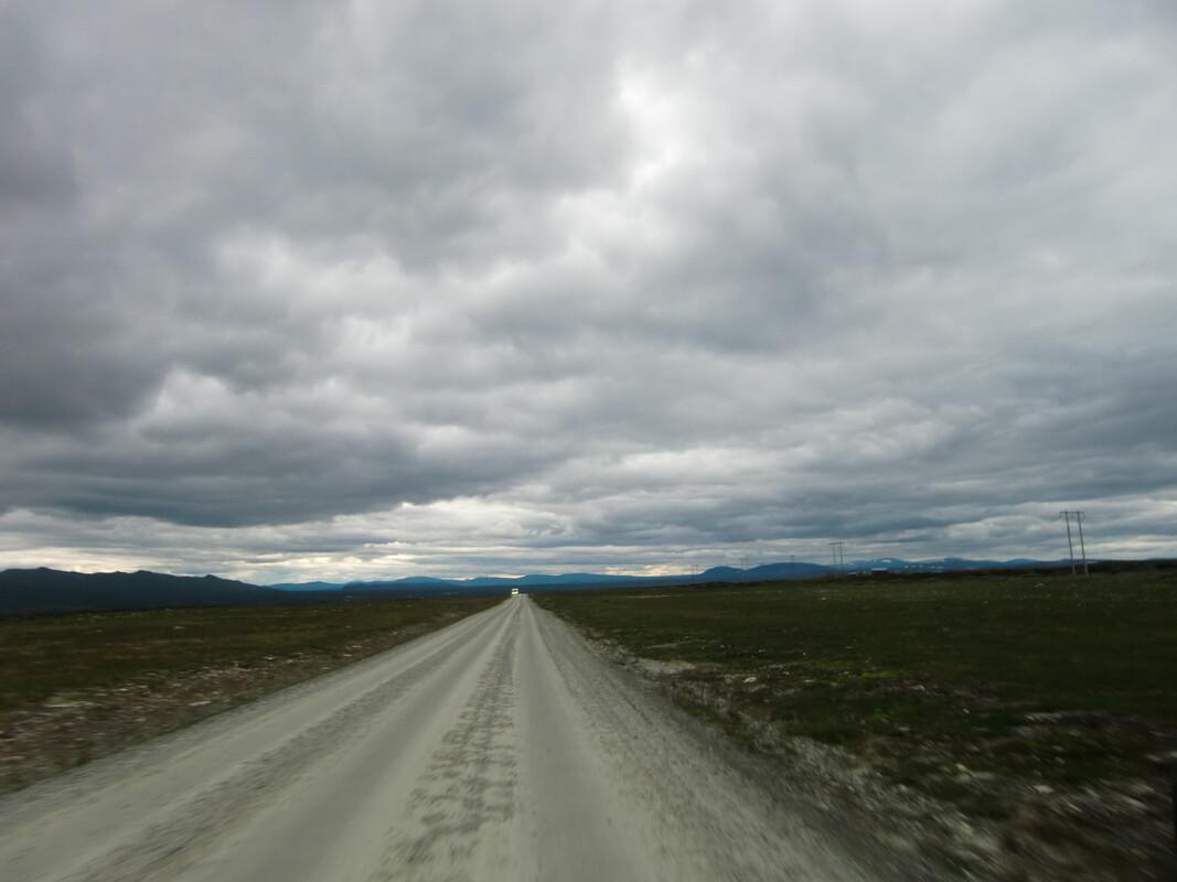 Flatruet. Vägen mellan Funäsdalen och Ljungdalen