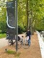 Fina cykelvägar genom fina parker