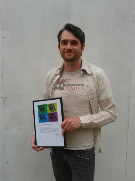 Derek Walmsley, music journalist of the year