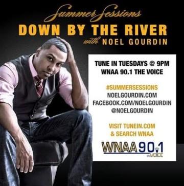 Poster for Noel Gourdin's radio show