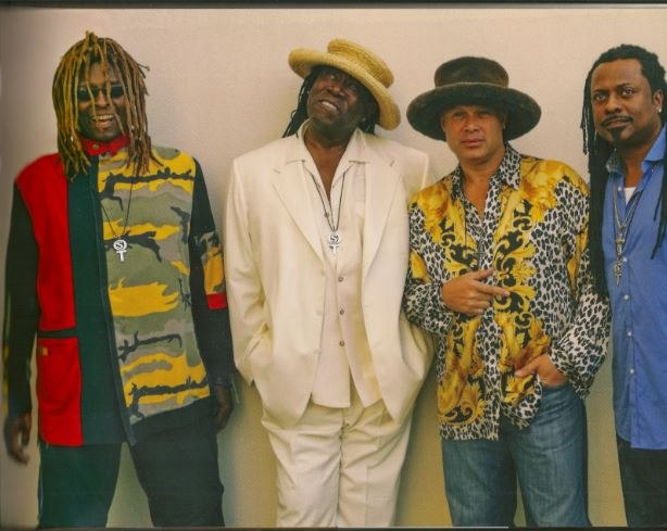 T.M. Stevens, Clarence Clemons and band
