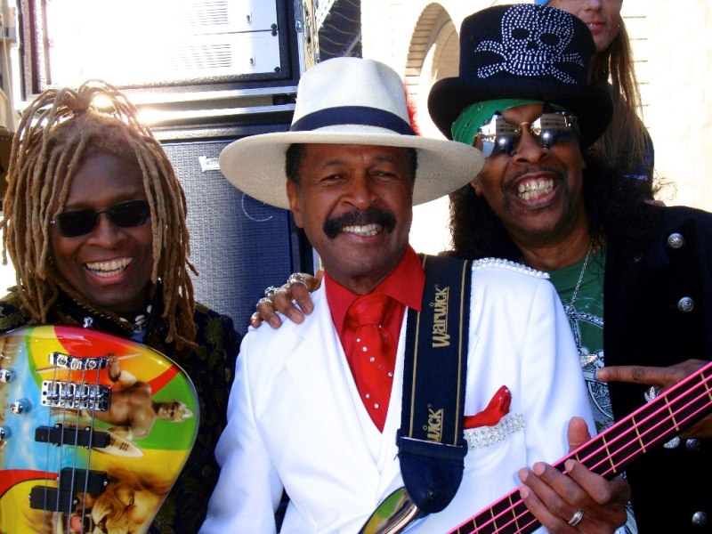 T.M. Stevens, Larry Graham, Bootsy Collins