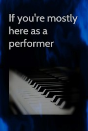 Image button for choosing mostly here as a performer, on Musicians' Corner