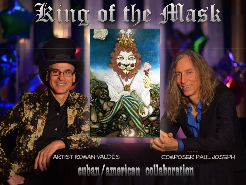 Photo for the artistic production of 'King of the Mask' with Paul Joseph and Roman Valdez