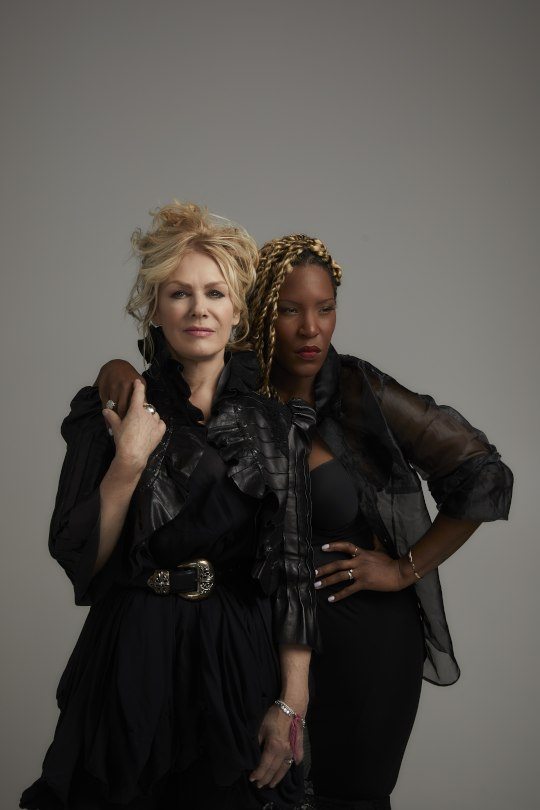 Liv Warfield and Nancy Wilson
