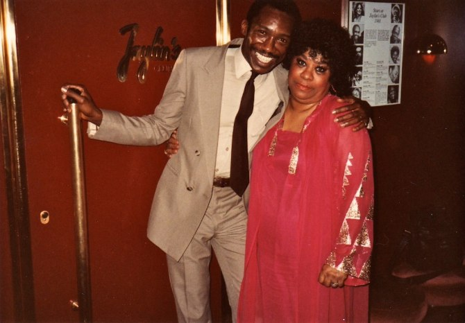 Alvin Queen and Ruth Brown